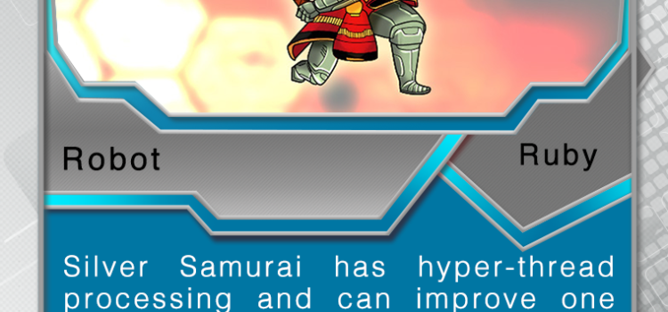 Card 001 – Silver Samurai